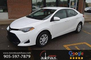 Used 2017 Toyota Corolla Manual I LANE DEPARTURE I ADAPTIVE CRUISE for sale in Concord, ON