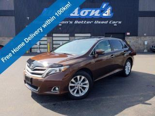 Used 2013 Toyota Venza Limited, AWD, Leather, Navigation, Sunroof, Reverse Camera, Bluetooth, Power Liftgate and Much More! for sale in Guelph, ON