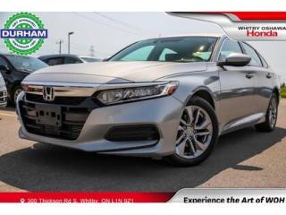Used 2019 Honda Accord LX | CVT | Android Auto/Apple CarPlay for sale in Whitby, ON