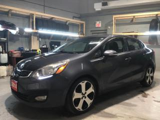 Used 2014 Kia Rio EX * Navigation * Sunroof * Heated Leather Seats * Back Up Camera * Push Button Start * Heated Steering Wheel * Passive Keyless Entry * 12V DC Outle for sale in Cambridge, ON