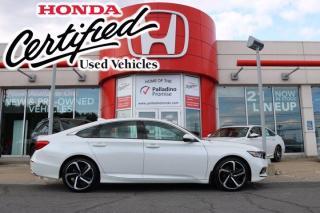 Used 2019 Honda Accord Sedan Sport - HONDA CERTIFIED - RATES STARTING @ 3.69% - for sale in Sudbury, ON