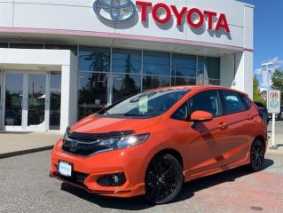 Used 2020 Honda Fit Sport CVT for sale in Surrey, BC