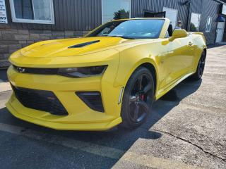 Used 2017 Chevrolet Camaro 1SS-REMOTE START-REAR CAMERA-POWER TOP for sale in Tilbury, ON