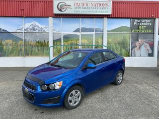 Used 2016 Chevrolet Sonic LT for sale in Campbell River, BC