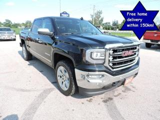 Used 2017 GMC Sierra 1500 SLT crew 4X4 Leather  Navigation Loaded for sale in Gorrie, ON