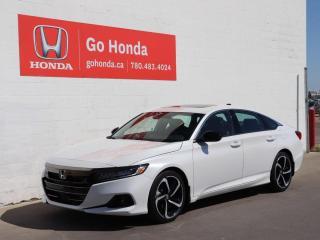 New 2021 Honda Accord Sedan SPORT 2.0 for sale in Edmonton, AB