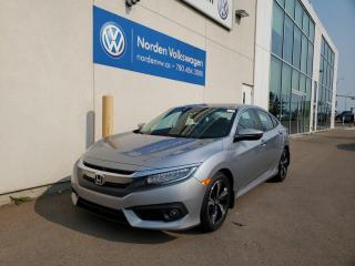 Used 2018 Honda Civic Sedan TOURING  NAV   LEATHER   SUNROOF   HTD REAR SEATS for sale in Edmonton, AB