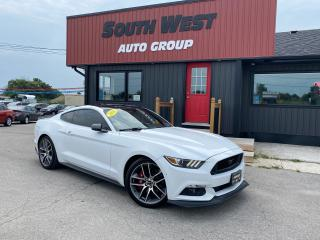 Used 2016 Ford Mustang Premium|Red Htd &Cooled Lthr|Navi|BackUp|Alloys for sale in London, ON