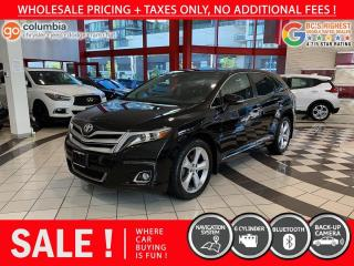 Used 2014 Toyota Venza Limited AWD - No Accident / Local / Nav / Sunroof for sale in Richmond, BC