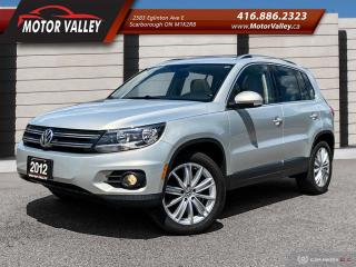 Used 2012 Volkswagen Tiguan 4Motion Highline Sunroof / Leather Mint! for sale in Scarborough, ON