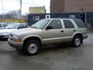 Used 2002 Chevrolet Blazer for sale in Etobicoke, ON