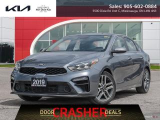Used 2019 Kia Forte EX CERTIFIED PRE OWNED 6 YEARS OR 120,000KM WARRANTY for sale in Mississauga, ON