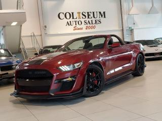 Used 2017 Ford Mustang GT-PREMIUM-CONVERTIBLE-CUSTOM-AUTOMATIC for sale in Toronto, ON