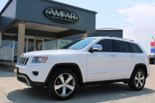 Used 2015 Jeep Grand Cherokee Limited for sale in Tilbury, ON