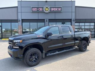 Used 2021 Chevrolet Silverado 1500 4WD Crew Cab 157  LT Trail Boss for sale in Thunder Bay, ON