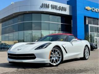 Used 2019 Chevrolet Corvette CONVERTIBLE 3LT AUTO HUD NAV PERFORMANCE EXHAUST for sale in Orillia, ON
