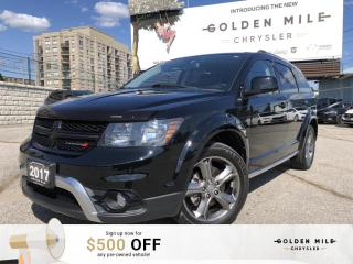 Used 2017 Dodge Journey Crossroad No Accidents,DVD player, 3rd Row Seats!! for sale in North York, ON