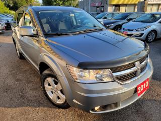 Used 2010 Dodge Journey SXT/7PASS/CAMERA/DVD/P.SEAT/LOADED/ALLOYS for sale in Scarborough, ON