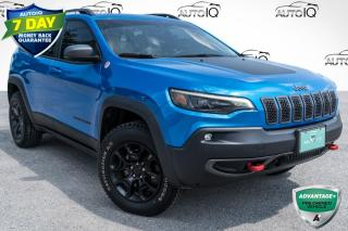 Used 2019 Jeep Cherokee Trailhawk ALPINE SPEAKERS WITH SUBWOOFER!!! TRAILER TOWING PACKAGE!!! 8.4