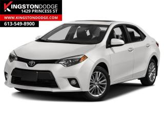Used 2016 Toyota Corolla LE | HEATED SEATS | BACKUP CAMERA | for sale in Kingston, ON