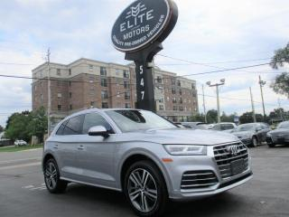 Used 2018 Audi Q5 2.0 Tfsi Quattro Technik S Tronic for sale in Burlington, ON