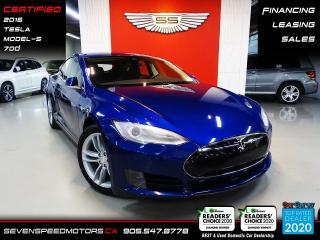 Used 2016 Tesla Model S MODEL S 70D ACCIDENT FREE | CERTIFIED | FINANCE for sale in Oakville, ON