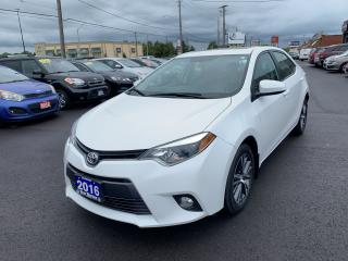 Used 2016 Toyota Corolla LE,Sunroof ,Rear view camera for sale in Hamilton, ON