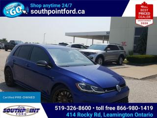 Used 2019 Volkswagen Golf R 2.0 TSI GOLF R AWD LEATHER NAVIGATION HEATED SEATS for sale in Leamington, ON