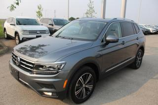Used 2021 Volkswagen Tiguan 2.0L TSI Highline 4MOTION for sale in Whitby, ON