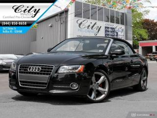 Used 2010 Audi A5 CONVERTIBLE for sale in Halifax, NS