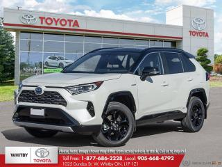 New 2021 Toyota RAV4 Hybrid XSE for sale in Whitby, ON