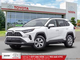 New 2021 Toyota RAV4 LE FWD for sale in Whitby, ON