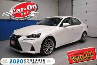 Used 2017 Lexus IS 300 AWD | LUXURY PKG | VENTILATED SEATS | PARK SENSORS for sale in Ottawa, ON