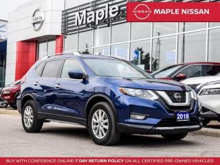 Used 2018 Nissan Rogue SV AWD Apple Carplay Remote Start Blind Spot for sale in Maple, ON