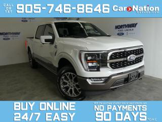 Used 2021 Ford F-150 KING RANCH | PANO ROOF | FX4 OFFROAD |MSRP 85,000! for sale in Brantford, ON