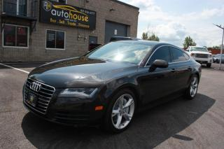 Used 2013 Audi A7 QUATTRO/PREMIUM/SUNROOF/NAV/360 CAMERA/PARKING SENSOR/LOW KM for sale in Newmarket, ON