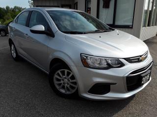 Used 2018 Chevrolet Sonic LT Sedan - ALLOYS! BACK-UP CAM! REMOTE START! for sale in Kitchener, ON