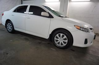 Used 2012 Toyota Corolla CE BLUETOOTH CERTIFIED 2YR WARRANTY *FREE ACCIDENT* ENGINE R START CRUISE AUX for sale in Milton, ON