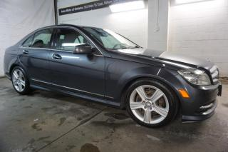Used 2011 Mercedes-Benz C-Class 300 AWD LUXURY NAVI CAMERA *1 OWNER*FREE ACCIDENT* CERTIFIED 2YR WARRANTY HEATED POWER LEATHER BLUETOOTH for sale in Milton, ON