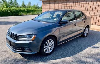 Used 2017 Volkswagen Jetta Wolfsburg Edition | MANUAL | for sale in Barrie, ON