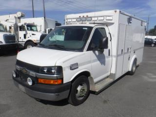 Used 2012 Chevrolet Express G3500 Ex Ambulance 10 Foot Cube Van for sale in Burnaby, BC