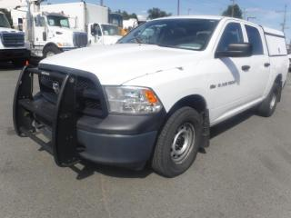 Used 2012 RAM 1500 Crew Cab 4WD Ex Police with work canopy for sale in Burnaby, BC