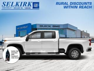 New 2021 Chevrolet Silverado 2500 HD LTZ  -  Cooled Seats for sale in Selkirk, MB
