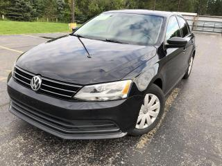 Used 2015 Volkswagen Jetta Trendline 2WD for sale in Cayuga, ON