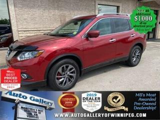 Used 2016 Nissan Rogue SL* Panoramic Roof/AWD/Heated Seats/NAVIGATION for sale in Winnipeg, MB