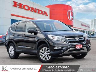 Used 2016 Honda CR-V EX APPLE CARPLAY™ & ANDROID AUTO™ | PUSH BUTTON START | POWER SUNROOF for sale in Cambridge, ON