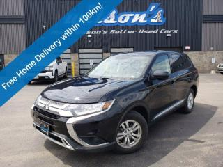 Used 2019 Mitsubishi Outlander ES AWD, Heated Seats, Android Auto + Apple CarPlay, Bluetooth, Rear Camera, Alloy Wheels and more! for sale in Guelph, ON