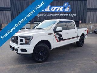 Used 2019 Ford F-150 LARIAT- Leather, Navigation, Sport Package, Sunroof, Heated Seats & Steering Wheel and More! for sale in Guelph, ON