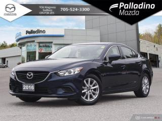 Used 2016 Mazda MAZDA6 GX - NEW BRAKES ALL AROUND - ONE OWNER for sale in Sudbury, ON
