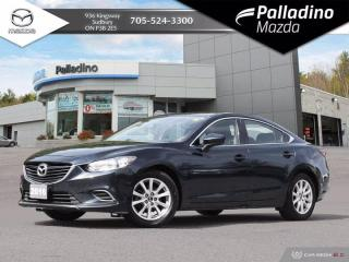 Used 2016 Mazda MAZDA6 GX - ONE OWNER - NO ACCIDENTS - LOW MILEAGE FOR YEAR for sale in Sudbury, ON